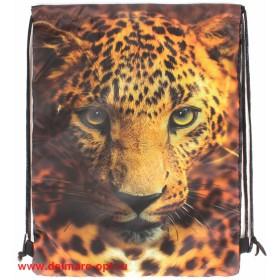 Мешок для сменной обуви-Юпитер 3115.27   (м 414)    Леопард