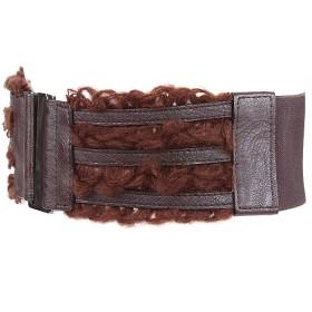 Ремень-резинка 360-5298 шир 7,   5см,    шоколад