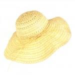 Шляпа женская текстиль    (D=45)    Беатрис-бант,    424-6 натуральный