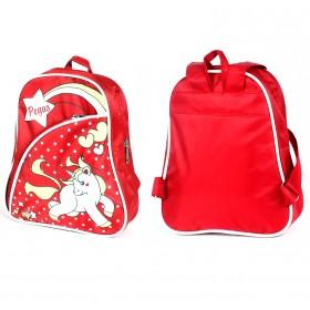Рюкзак детский Silver Top-1040 Кроха прост спинка/ Pegas,    красный,    лошадка
