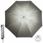 Зонт женский RST-381,    R=53см,    механика;    8 спиц-сталь;    3слож;    полиэстер,    хаки
